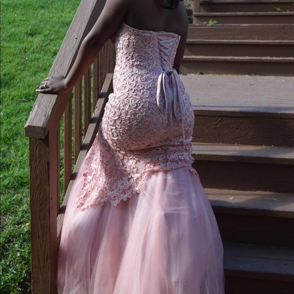 Dresses Baby Soft Pink Prom Dress Poshmark